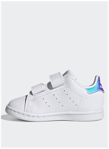 adidas Adidas Kız Çocuk Beyaz-Gümüş Yürüyüş Ayakkabısı Beyaz